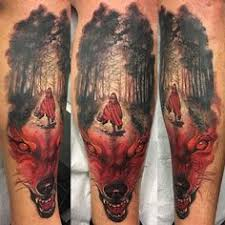 Little Red Riding Hood Tattoo Meaning 35