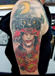 Little Red Riding Hood Tattoo Meaning 38