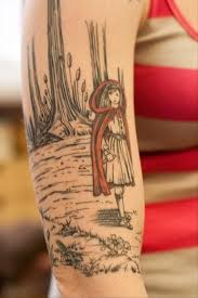 Little Red Riding Hood Tattoo Meaning 40