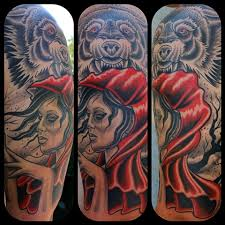 Little Red Riding Hood Tattoo Meaning 43