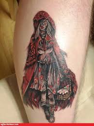 Little Red Riding Hood Tattoo Meaning 6
