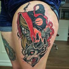 Little Red Riding Hood Tattoo Meaning 7