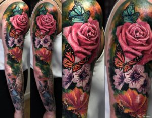 Floral Tattoo Artists