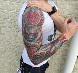 Cleveland Tattoo Artist Phil Robertson 1