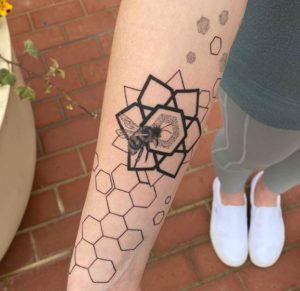 Geometric Tattoo Artist Anton Heudecker 1