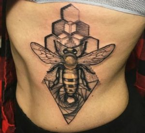 Geometric Tattoo Artist Liat Moshe 2