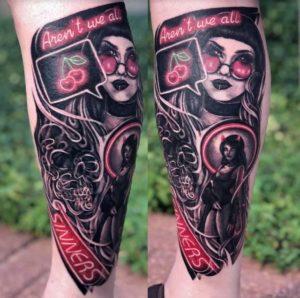 Kitty Meltvedt Tattoo Artist 2