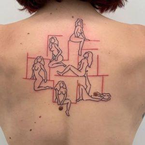 Minimalist Tattoo Artist Curt Montgomery 2
