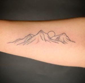 Minimalist Tattoo Artist Kirk Budden 2
