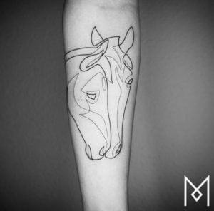Minimalist Tattoo Artist Mo Ganji 1