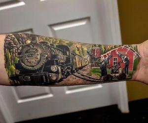 Panama City Tattoo Artist Jerry Pipkins 1