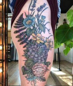 Portland Tattoo Artist Alice Kendall 2