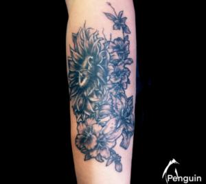 Sacramento Tattoo Artist Penguin Rafferty 5