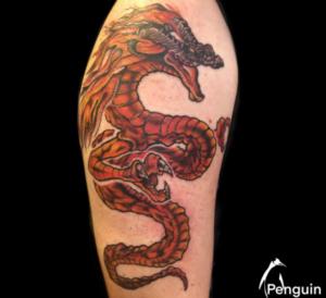 Sacramento Tattoo Artist Penguin Rafferty 6